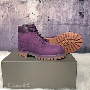 Timberland toddler 6in premium purple